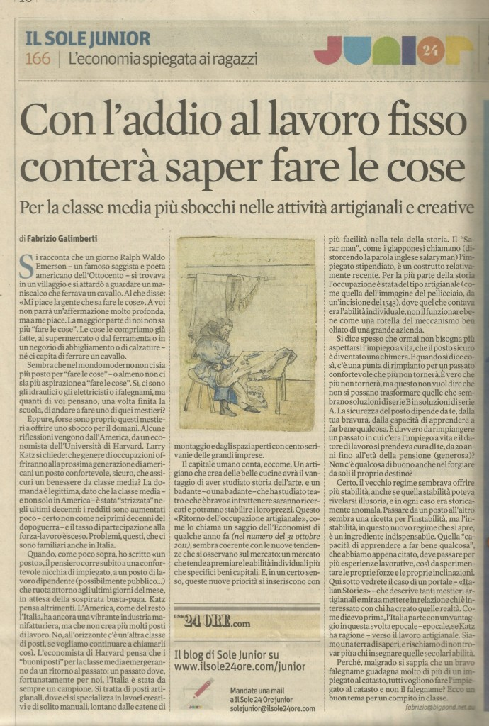 Galimberti Sole 24 H